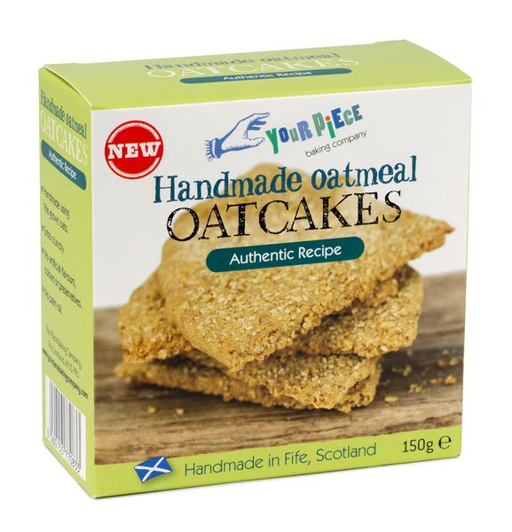 Your Piece Oatmeal Oatcakes Beef Dripping 150g