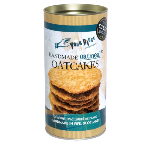 Your Piece Oatmeal Oatcakes Tin 180g