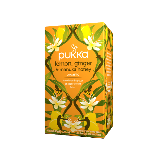 Pukka Lemon, Ginger & Manuka Honey Tea (20 sachets)