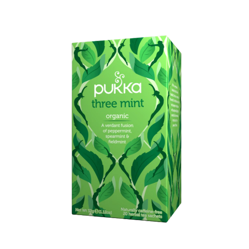 Pukka Three Mint Tea (20 sachets)