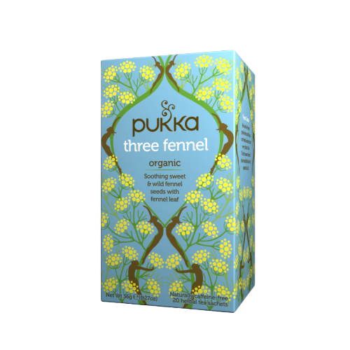 Pukka Three Fennel Tea (20 sachets)