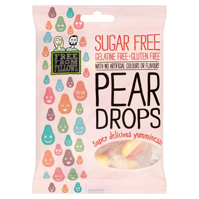 Free From Fellows Pear Drops 70g