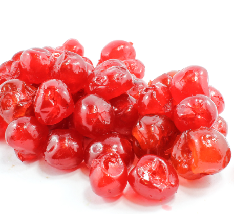 Bramik Glace Cherries 100g