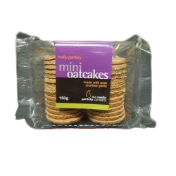 Really Garlicky Mini Oatcakes 150g